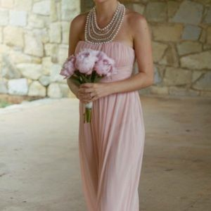 Pink Bridesmaid/Formal Gown